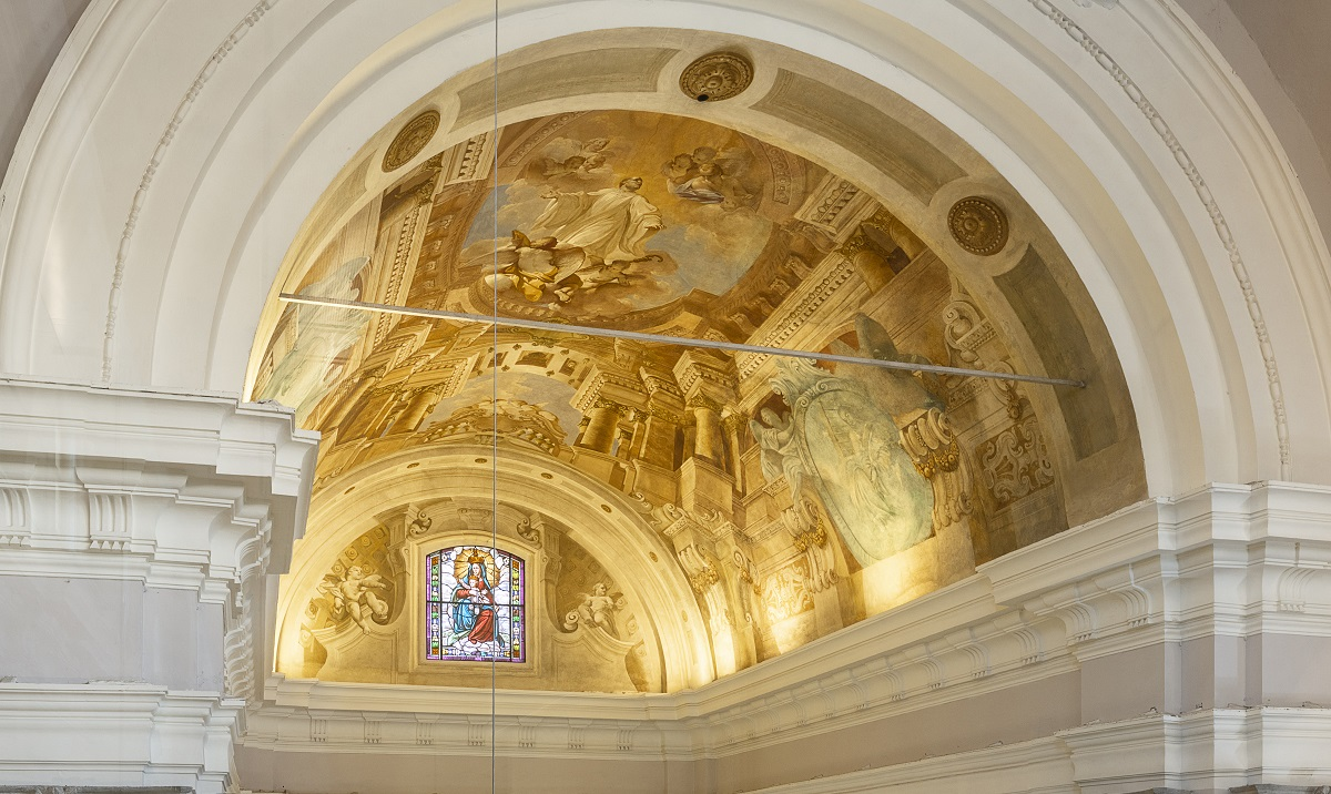 affresco abside san Ponziano