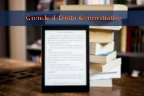 Nuova sottoscrizione_Giornale diritto amministrativo