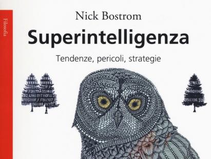 Copertina libro Superintelligenza